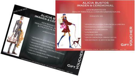Gift Vouchers Cursos de asesoramiento de imagen